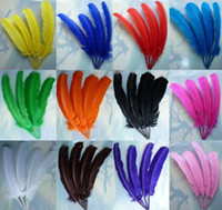 Wholesale natural Turkey Feathers Jewelry Craft Findings Festival Wedding Party Decor Feather cm inches Custom Colors