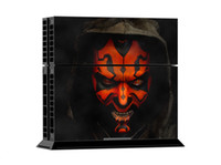 Wholesale Star Wars Darth Maul PS4 Sticker PS4 Skin PS4 Stickers Controller Skin Console Stickers PS4 Protective Skin