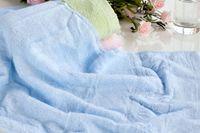 bamboo items - Plain towel manufacturers selling pure antibacterial bamboo fiber green super large towel labor welfare promotional items