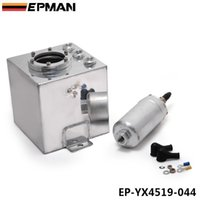 Wholesale EPMAN L Sliver Billet Aluminum Fuel Surge Tank PC High Quality External Fuel Pump EP YX4519