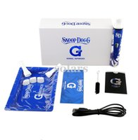 Wholesale Blue and White Porcelain Snoop Dogg G PRO Vaporizer Hottest Fashionable Herbal Vaporizer Starter Kit vs Titan Dry Herb Vaporizer