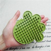 area cleaning - Dog Grooming Tools Dog Bath Brush Dog Comb Large Force Area Easy To Clean Comfortable Massage