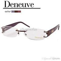 Wholesale 2015 lady fashion design acetate rimless optical eyewear frame for CPAP DN4435