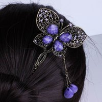 Cheap Elegant Women Rhinestone Hair Decorations Chic Lady Resin Hairbands Hair Ornaments Accessory For Party FS9037*1