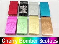 philippines - New CHERRY BOMBER full mechanical mod by MCV PHILIPPINES dual battery clouds vapes black white High Quality