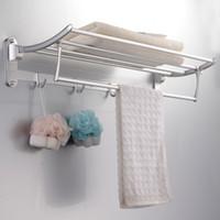 Wholesale Sanitary Ware Manufacturers collapsible metal pendant activities towel rack towel rack LA206