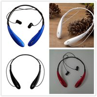 Wholesale HBS HBS800 HBS Headphone Sports Stereo Bluetooth Wireless Headset s for Samsung Blackberry iPhone Bluetooth Headphone