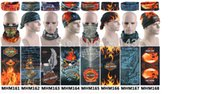 active army divisions - NEW summer AN UV unisex skull harley mix design bandana scarf division face mask tube harley Buff scarves DHL
