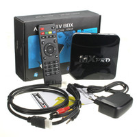 Wholesale XBMC MX Pro MXPro Amlogic S805 TV Box Quad Core Cortex A5 Mali Android Kitkat H HDMI b with Android TV Box