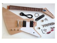 gibson - 2015 hot selling new musical instrument GB goose type Explorer electric guitar semi finished products customSend gift package