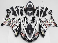 al por mayor carenado yzf-Carenados de inyección para Yamaha YZF1000 YZF R1 07 08 200 2008 ABS Carenados Kit de carenado de motocicleta Carrocería Cowling Fimer Sterilgard Negro