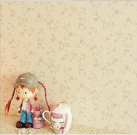 Купить Розовые садовые цветы-Нетканые обои гостиной спальня сад розовые цветы обои фона завод прямой бесплатная доставка 6502