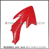 Wholesale CRF50 CRF PLASTIC style fenders Dirt PIT Bike Off Road red Right