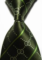 ascot tie silk - Designer Brand New Classic Letter Tie Striped Purple White Red Black Brown JACQUARD WOVEN Silk Fashion Men s Tie Necktie