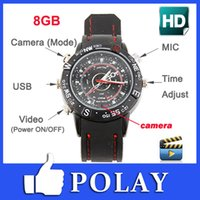 watch dvr recorder - Electric GB Hidden Mini DV DVR SPY Camera Camcorder Video Recorder Pocket Wrist Watch