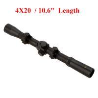 Cheap 4X20 Air Rifle Telescopic Scope Sights Riflescopes Hunting Scopes Riflescope for 22 Caliber Rifles and Airsoft Guns