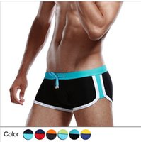 Wholesale Men swim trunks swimming trunks Sexy swimwears quality Nylon colors for choice