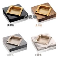 ashtray marble - Stainless steel ashtray quality personality fashion trend of the marble ashtray