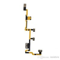 Wholesale New Power On Off Volume Control Flex Ribbon Cable Part for Apple Ipad
