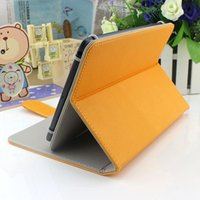 Cheap New Universal high quality PU Leather Stand Cover Case For 7 inch 8inch 9 inch 10inch tablet pc Tab stand up anti-shock 10 color available
