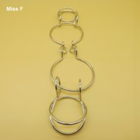 Wholesale Dual Link Ring Solution Game Adults Toys Fellow Sufferers Ring Wire Puzzle Magic