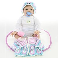 baby blanket lovey - Silcone Doll Reborn Baby Toys with Magnetic Pacifier and Blanket Lovey Infant Bebe Reborn Dolls Brinquedos original high dolls