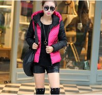 Wholesale winter women desigual coat overcoat autumn coat Down Coat down jacket FEATHER FABRIC Polka Dot Long Sleeve