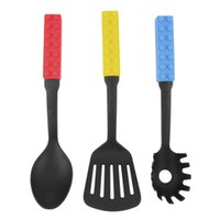 Wholesale New brand3pcs set Silicone Heat Resistant Cooking Kitchen Utensils Gadget Tool Set