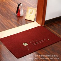 bath doors - 10pcs carpets rugs Factory Clover doormat entrance door mat IKEA Cengceng carpet floor mats bath mats thin
