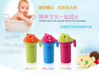 Wholesale 2015 new baby wash bath special cup portable bathtub Environmental protection water device multifuctional cup colors