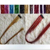 Wholesale Hot color wig hair piece hair extension color colorful clips piece