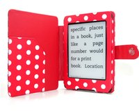 Wholesale Leather Magnetic Case Cover For Amazon Kindle Paperwhite Version