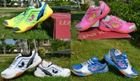 Wholesale Original Table tennis shoes Butterfly table tennis mesh breathable sneakers shoes Multi Colors Plus Size
