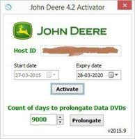 agriculture software - John Deere Serivce Advisor AG Agriculture Equipment History DVD New activator unexpire