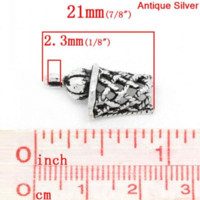 basketball hoop nets - Retail Antique Silver Basketball Net Hoop Sports Charm Pendants x11mm quot x3 quot charm charms clock