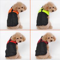 apparel suppliers - 2016 NEW ARRIVAL dog apparel pet winter clothes Cotton Vest for poodle Golden Retriever Huskies towser pet suppliers S M L XL XXL