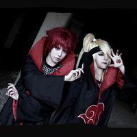 anime apparel - Cartoon Apparel Naruto Cosplay Costumes Naruto Akatsuki Itachi Uchiha Cosplay Costume Set Halloween Costumes Party Cosplay