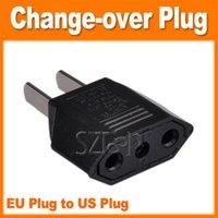 change over - Euro plug to US plug change over plug EU TO US plug