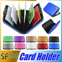 american green card - Aluminium Credit card wallet cases card holder bank card case wallet Black colors available