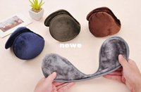 Wholesale Fashion Hot Color warm plush cloth Ear Muffs Winter Ear warmers Mens or Womens Fleece Warmer Earmuff