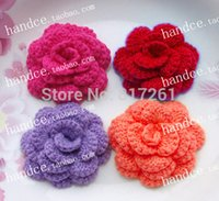 Wholesale free shiping IKEA cotton crochet lace doily clothing patches DIY flowers decor garment accessory rose for wedding pics