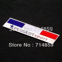 Wholesale PEUGEOT Aluminum Badge Emblem Sticker MIX logo