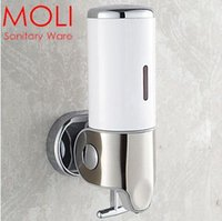 Wholesale Single head soap dispenser liquid shampoo dispenser for bathroom accessories shower hotel