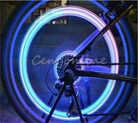Wholesale Skull Flashing LED Valve Cap Light Wheel Tyre Lamp For Car Motorcycle Bike order lt no track