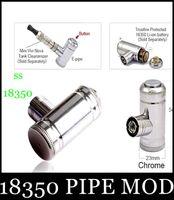 Cheap 18350 PIPE MOD Hammer E pipe 18350 Mod E cig Promotion E-pipe Epipe Mod Mechanical e cig mini e pipe with battery pk k1000 kits tz005
