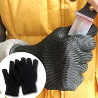 Wholesale 10 pairs Good quality Kevlar Working Protective Gloves Cut resistant Anti Abrasion Safety Gloves Cut Resistant