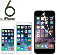 Wholesale Transparent Clear LCD Screen Protector Guard Film With Cloth for iPhone Plus S C S C Samsung Galaxy S5 S4 S3 Note