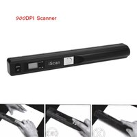 Wholesale High quality Handy HD Scan Mini Mobile Cordless Handheld A4 Scanner Portable Hand Held Scanner for Document Photo Receipt