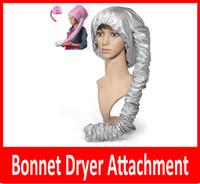 Wholesale New Portable Hair Dryer Soft Hood Bonnet Attachment Haircare Salon Hairdress hair care cap Treatment Cap