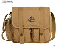 Wholesale Shoulder bags man bag canvas bag Korean shoulder Crossbody trend men s shoulder